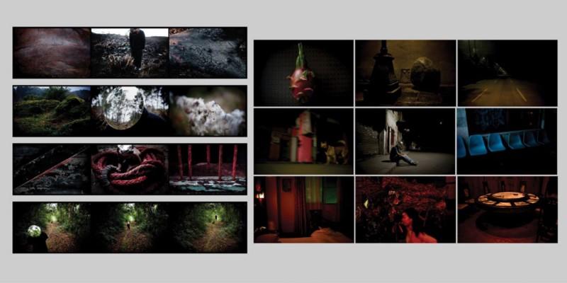 """Aqui estão algumas fotos das duas séries que eu mais gosto do Edu Monteiro. Na esquerda """"Saturno"""", e na direita, """"Noite Chinesa"""". Não coloquei aqui a série que foi exposta no Paraty em Foco, """"Autorretrato Sensorial"""", mas você pode ver no site dele: www.edumonteiro.com"""